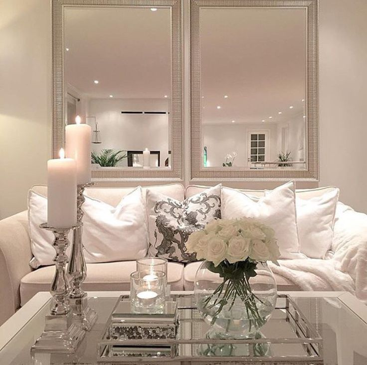 Love the layout...and the white flowers in a clear glass vase