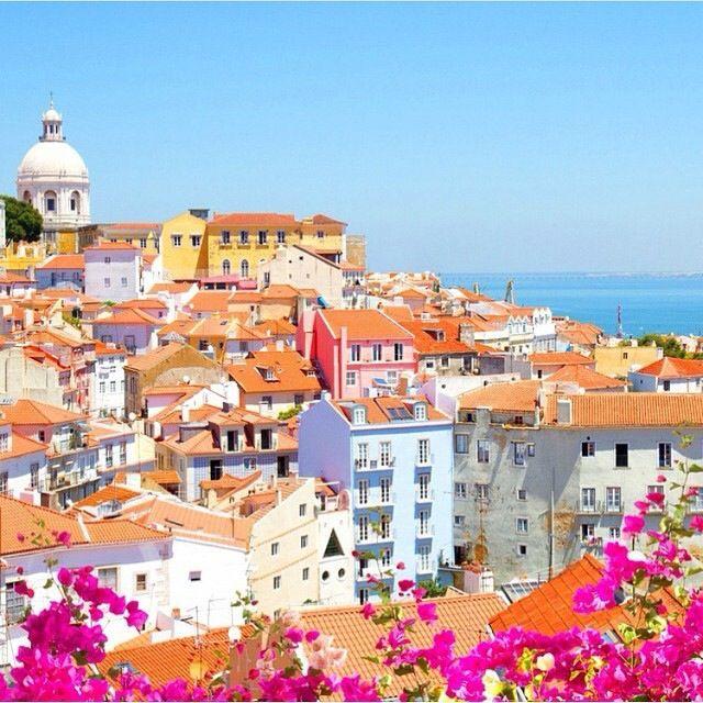 Lisbon amazing city view