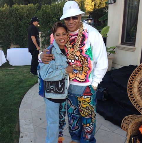 1990s Party Theme | LL Cool J Throws His Wife A 90s Themed Birthday Party