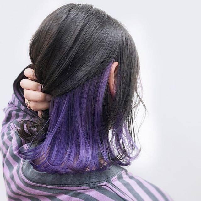39++ Purple underlayer hair inspirations