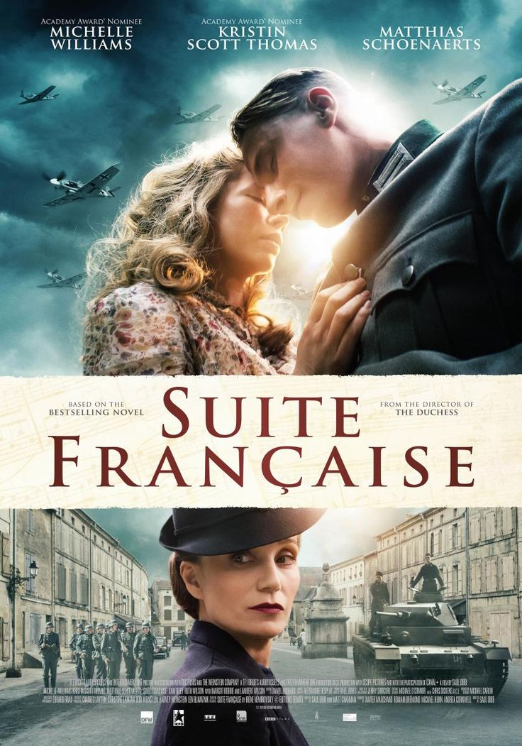 Suite francesa [Enregistrament de vídeo] / TF1 Droits audiovisuels and Entertainment One present in association with BBC Films and the Weinstein Company present a TF1 Droits audiovisuels and Entertainment One production ; directed by Saul Dibb