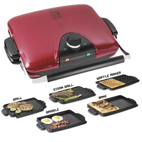 13 best images about waffle makers with removable plates - Largest george foreman grill with removable plates ...
