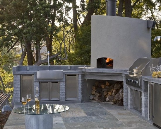 17 best images about concrete bbq 39 s outdoor bar tops on - Coleman small spaces bbq decoration ...