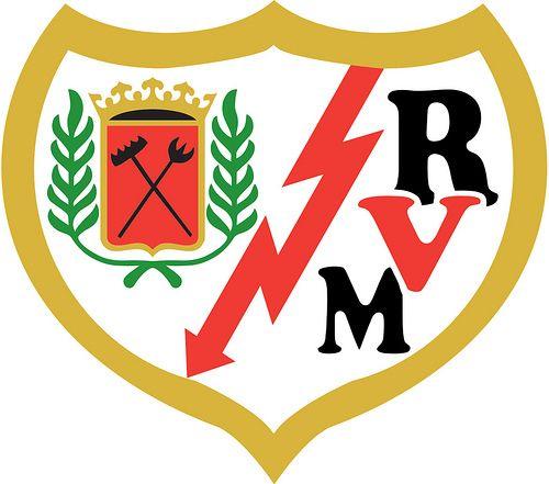 Rayo Vallecano de Madrid, S.A.D. | Country: Spain. País: España. | Founded/Fundado: 1924. Badge/Escudo.