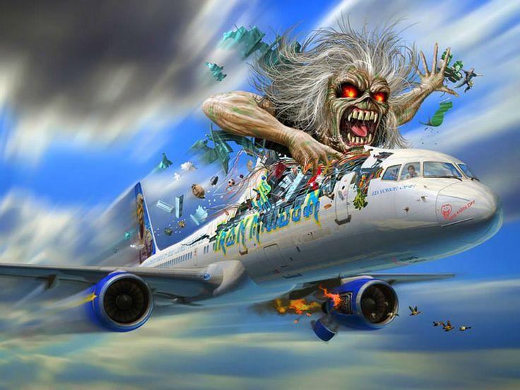 Eddie / Iron Maiden. #ironmaiden #eddie http://www.pinterest.com/TheHitman14/eddie-of-iron-maiden-fame/