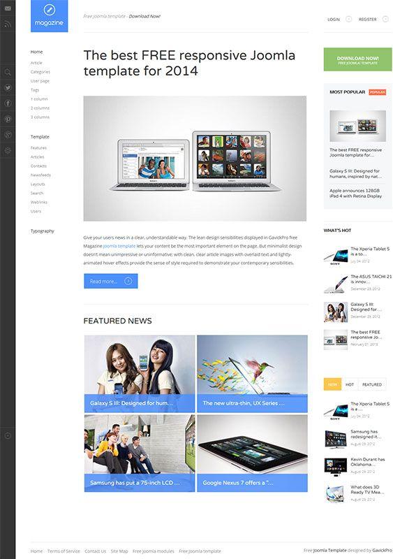Peexa brings free Professional Website themes, templates, plugins & extensions for all CMS e.g wordpress, joomla, magento, opencart etc http://peexa.com/