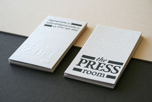The Press Room business cards | Flickr - Photo Sharing!