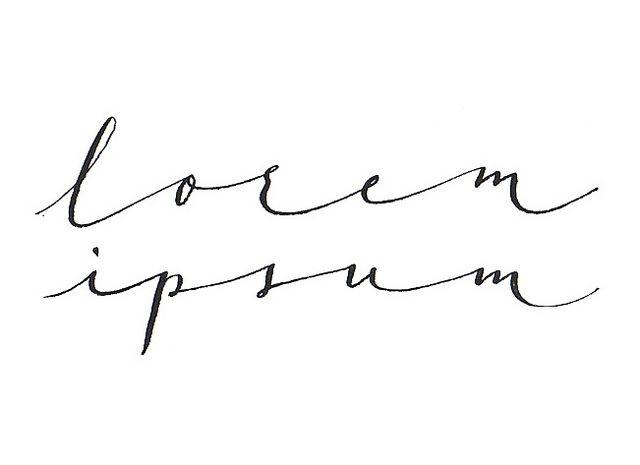 lorem ipsum. love the script.