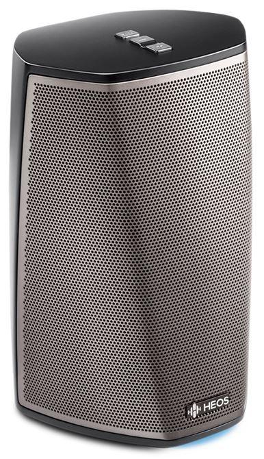 Denon HEOS 1 HS2 Black  Description: Denon HEOS I HS2 Draadloze speaker zwart Met deze zwarte Denon HEOS I HS2 draadloze speaker is het optimaal genieten van een verbazingwekkend goed geluid. Deze zwarte luidspreker is volledig draagbaar en nog lekker compact ook. De HEOS 1 Hs2 zwart heeft een weergaloos geluid met een mooie volle sound! Het is dé ideale speaker voor in huis (woonkamer keuken slaapkamer badkamer) maar ook voor gebruik buiten bijvoorbeeld onder de veranda of op de boot…