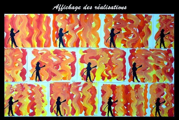 Le Journal de Chrys: Peindre le feu