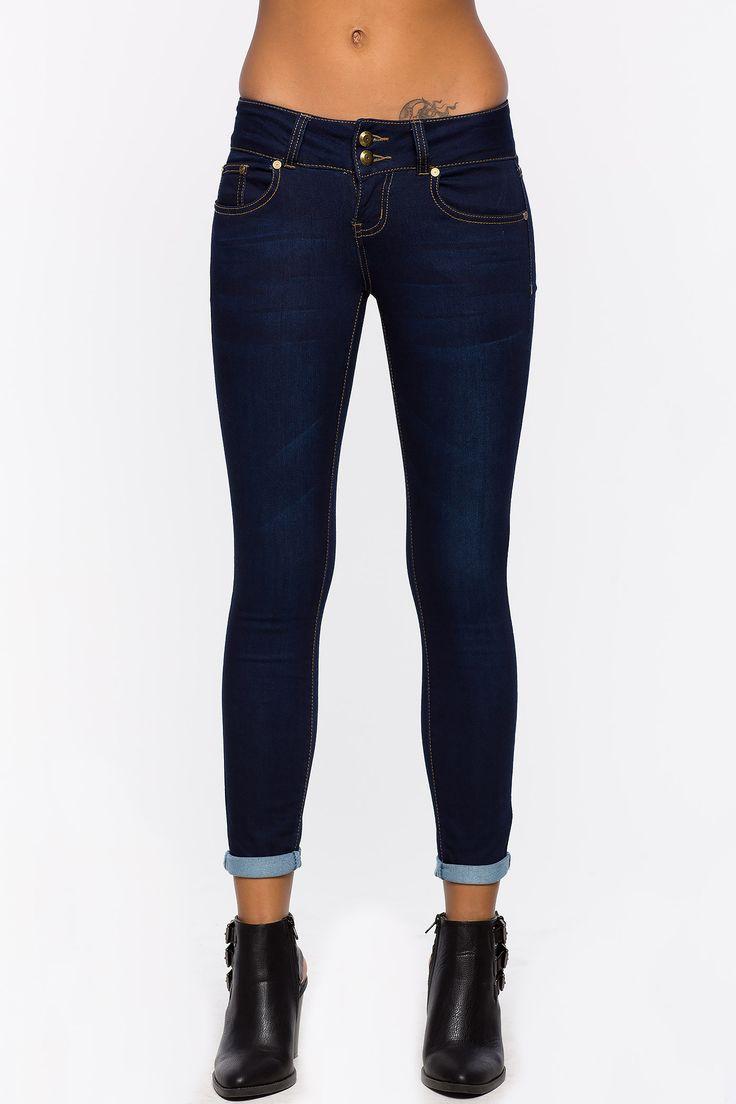 Cuffed Jeans For Women