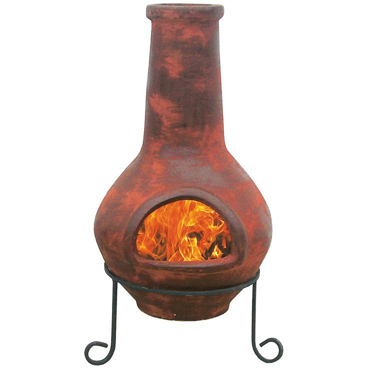 Chiminea With Metal Stand 40 Quot 59 99 At Florida Old Time