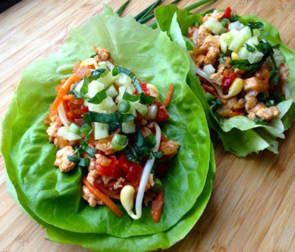 thai-chicken-lettuce-wraps