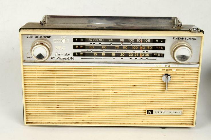 Radio Multiband Nippon NTF-10C22 Vintage på Tradera.com - Tuners och