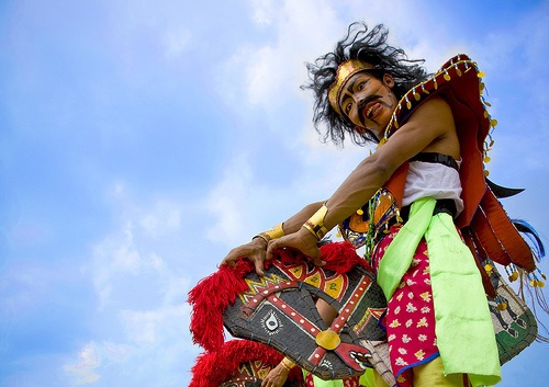 The dramatic genre of the horse dance (jaranan) is part of an age-old Javanese tradition displaying wide local and regional variations. A striking feature of the performances of the majority of horse-dance groups is the appearance of trance dancers.