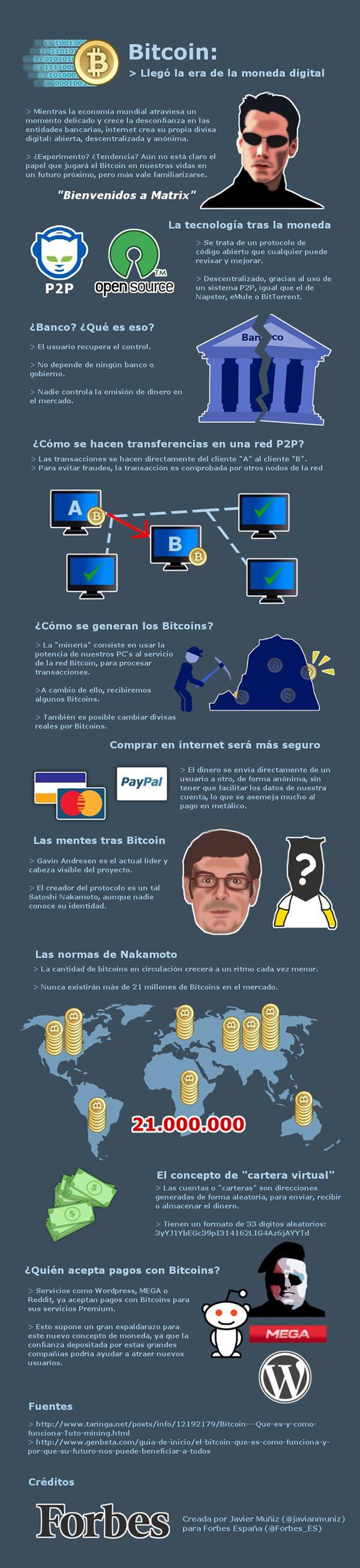 Bitcoin y la nueva economía descentralizada digital #eCommerce