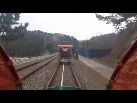 Samcheok Rail Bike at Gangwon-do - YouTube