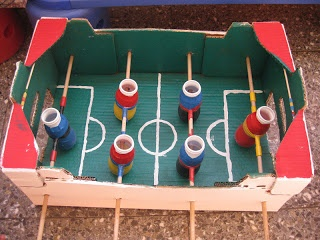 futbolin reciclat