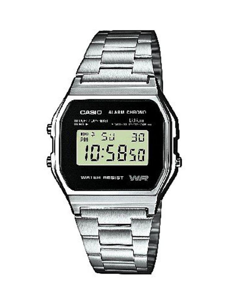 Casio Collection – Montre Unisexe Digital avec Bracelet en Acier Inoxydable – A158WEA-1EF 2017 #2017, #Montresbracelet http://montre-luxe-homme.fr/casio-collection-montre-unisexe-digital-avec-bracelet-en-acier-inoxydable-a158wea-1ef-2017/