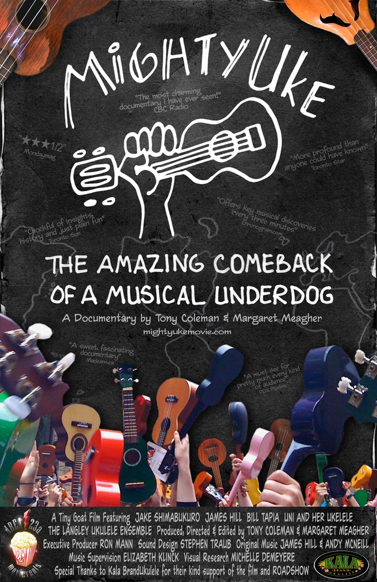 Watch this most wonderful documentary about the new renaissance of the ukulele