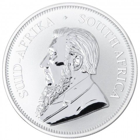 2017 1 oz South Africa Krugerrand 999 Silver Coin PU. #certified #coins #silver #buyback #mint