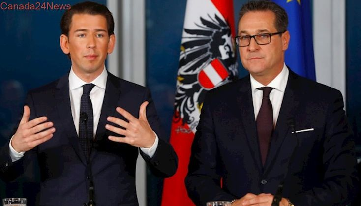 New coalition government shifts Austria to the right