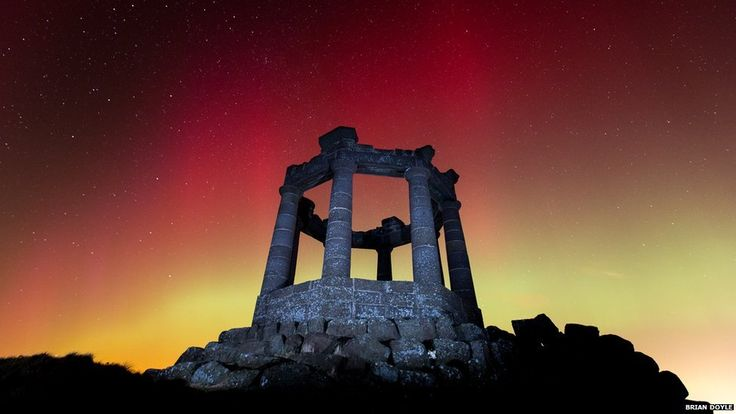 The Aurora Borealis - better known as the Northern Lights - has been giving rare and spectacular displays over parts of the UK, from the nor...