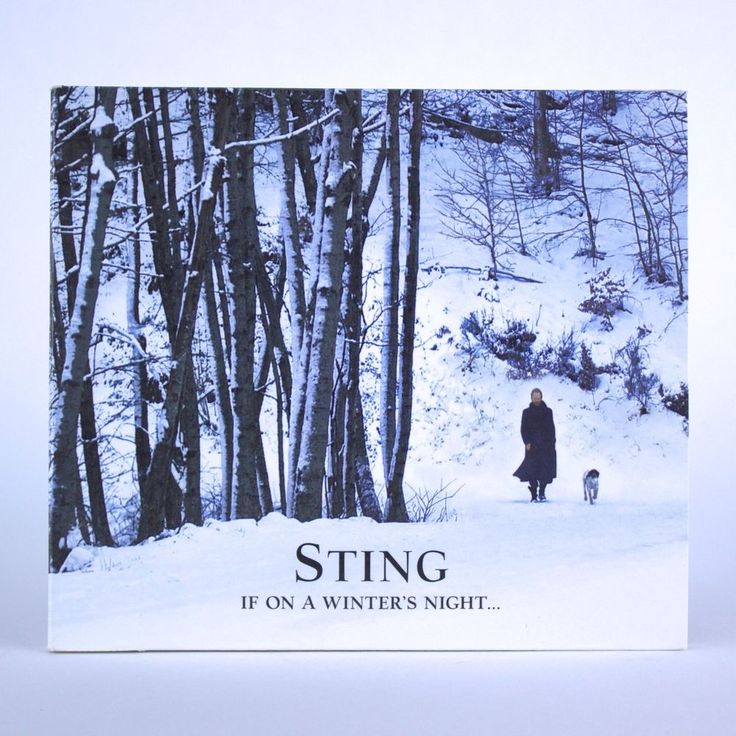 If On A Winter's Night… by Sting - Seasonal Christmas Holiday Music - Audio CD #Christmas