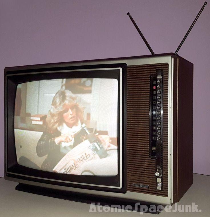 Details About Sears Vintage Television Set Big 19 Quot Sensor