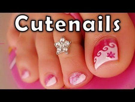Pedicure tips  toe nail art for perfect toenails by Cute Nails - #pedicure #toenailart #nailart #pedi #toenails #cutenails - http://bellashoot.com