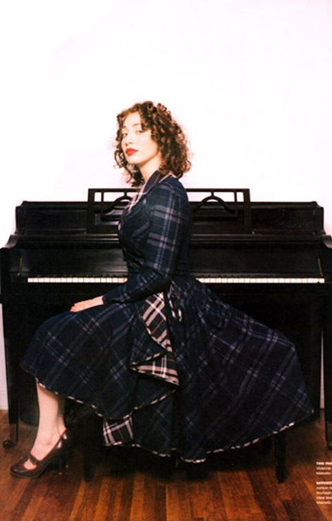 Regina Spektor... I think she's me in 15 years. :)... maybe with more eclectic lyrics.