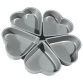 Found it at Wayfair - Non-Stick Linked Heart Pan