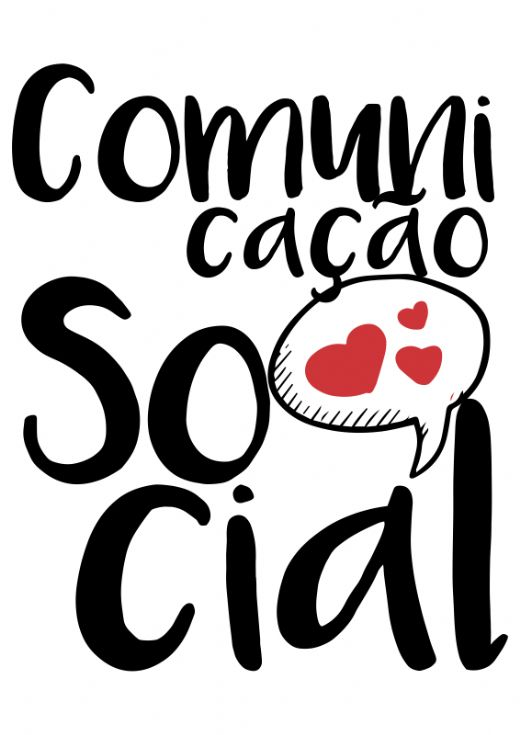 T-Shirt Feminina - Curso Comunica��o Social 11 - Foto