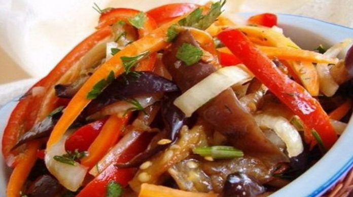 Баклажаны по-корейски на зиму — лучший рецепт!