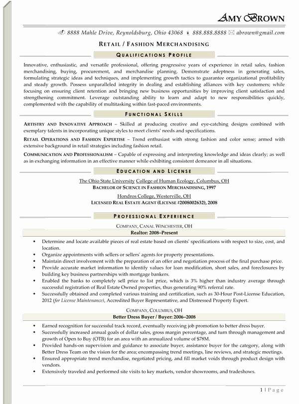 20 Merchandiser Job Description Resume (With images ...