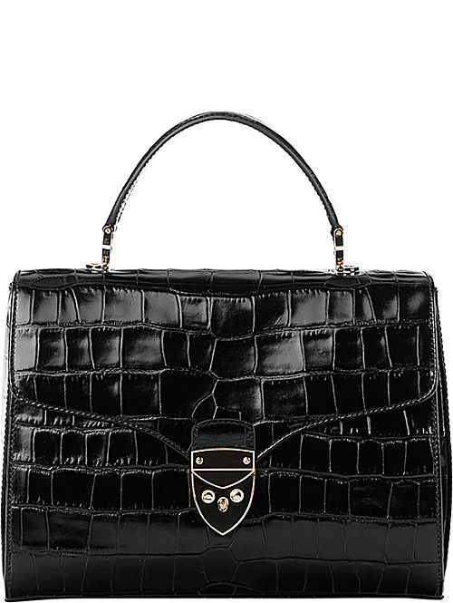 ASPINAL OF LONDON Mayfair leather cross-body bag