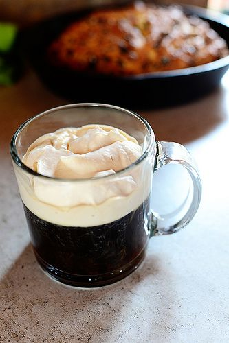 Irish Coffee: Perfect for St. Paddy's Day...or any day!