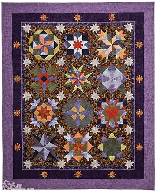 Star Quilts by Mary Knapp for C Publishing