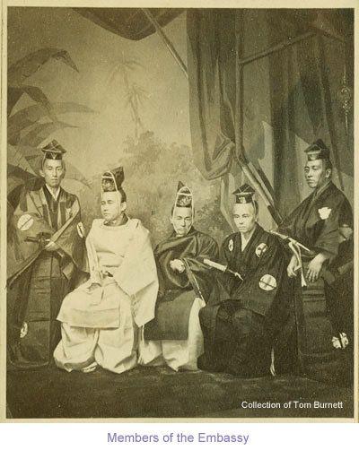 万延元年遣米使節団のニューヨーク訪問150周年記念:フォトギャラリー。使節団随員。