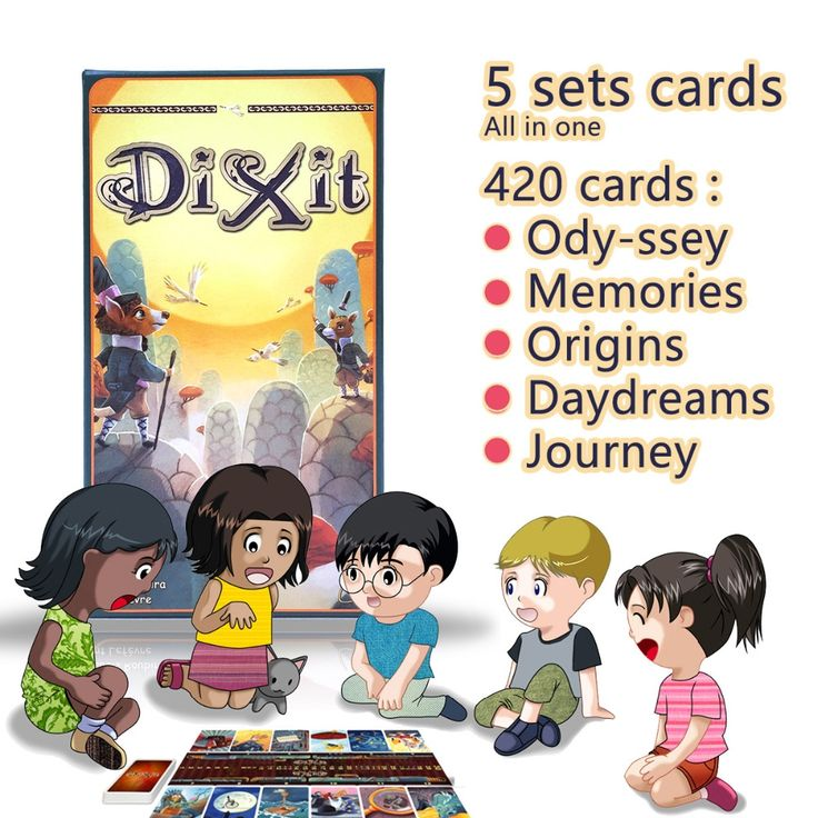 (34.38$)  Watch more here  - Dixit English board game gather 420 cards odassey/origins/journey/daydreams/memories gift box jogo dixit juego,mtg magic