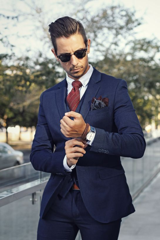 1000  ideas about Burgundy Tie on Pinterest | Men's suits, Suits ...
