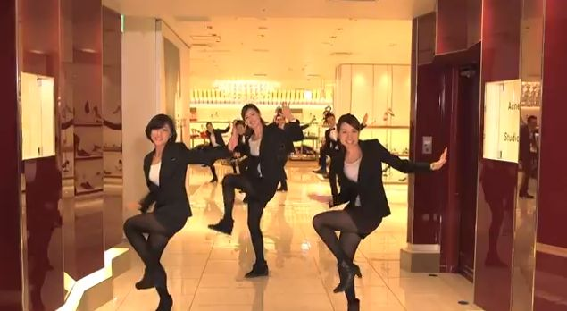 伊勢丹スタッフ約500人でダンス!「ISETAN-TAN-TAN」撮影の舞台裏 | AdGang