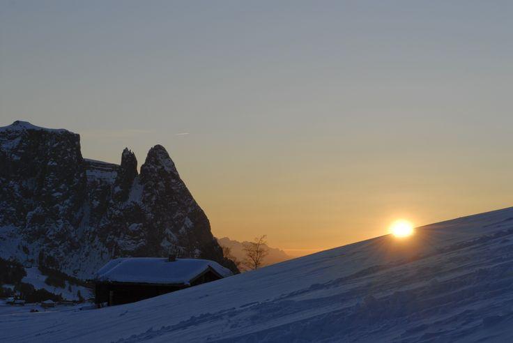 Fantastic mountain Sciliar / Schlern