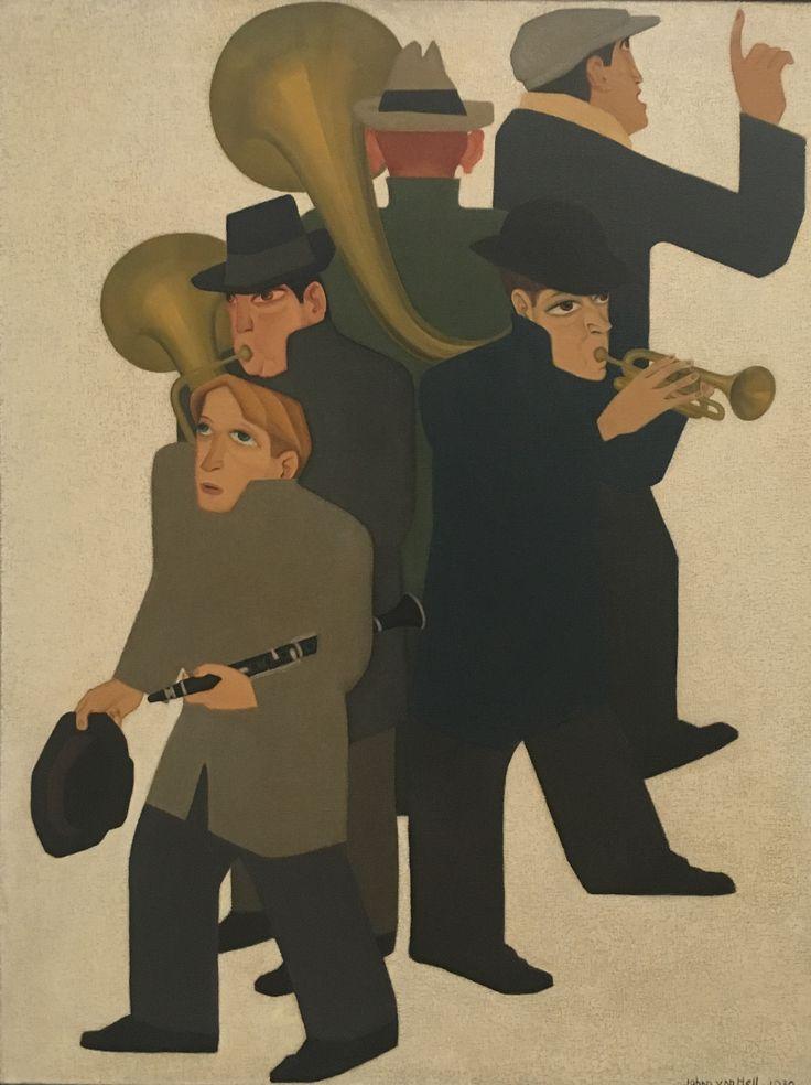 Johan van Hell, Street musicians, 1930, oil on canvas, Stedelijk Museum, Amsterdam