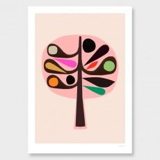 Tree II Art Print by Inaluxe