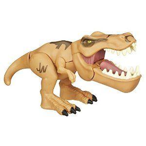 Amazon.com: Jurassic World Chompers Tyrannosaurus Rex Figure: Toys & Games