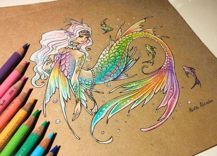 17 Mejores Ideas Sobre Dibujo Con Lineas En Pinterest: 17 Best Ideas About Mermaid Drawings On Pinterest
