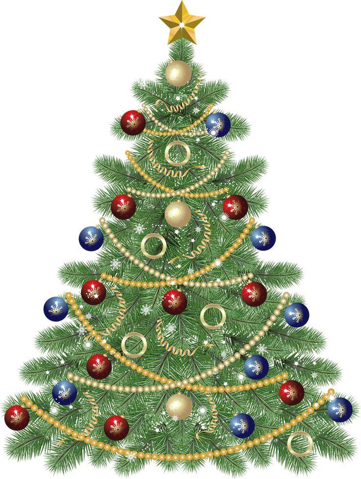 christmas tree clip art free | Holidays | Pinterest