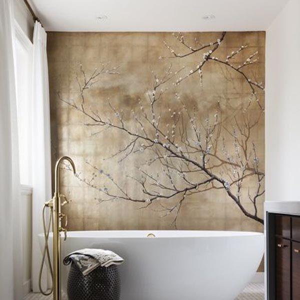 Die 25+ Besten Ideen Zu Fototapete Auf Pinterest | Wald Tapete Und ... Badezimmer Wanddekoration