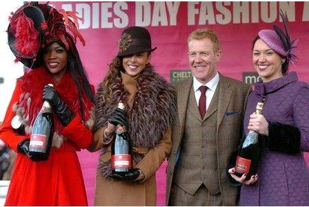 Best dressed lady at Cheltenham 2013, Charlotte Hamilton (second from left)